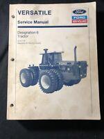 New Holland Versatile Service Manual Designation 6 Tractor *453