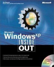 Microsoft Windows XP Inside Out, includes CD-ROM