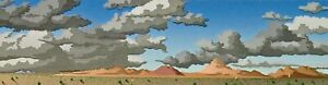 """Doug West, """"Memories Revisited"""", Limited ed serigraph - Image Size 3.5""""h x 14""""w"""
