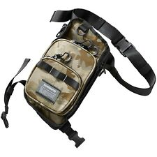 Shimano Angeltasche Spinntasche - Tasche Rungun Leg Bag Camo L