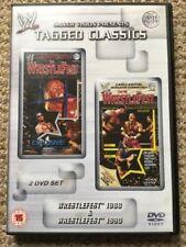 WWE Tagged Classics - Wrestlefest 1988 & 1990 DVD WWF RARE 88 90