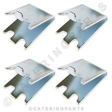 4 x supporti per mensole pilastro clip per frigorifero con congelatore vino