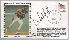 Dave Winfield Autographed Silk Cache Envelope JSA Certified Authentic