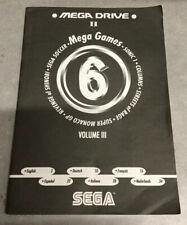 Sega Mega Drive II Mega Games 6 Volume III Manual