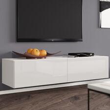 TV Lowboard Tenor 140 Board Fernsehschrank Hängeschrank Hochglanz Hängend M24