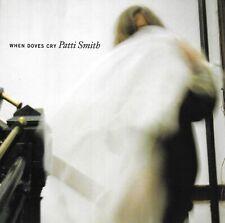 Patti Smith When Doves Cry Cd Single Promo Only Copy