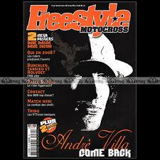 FREESTYLE MOTOCROSS N°30 ANDRE VILLA DAISUKE SUZUKI SPIRIT RIDERS BBR FMX 2008