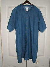 VANISHING ELEPHANT BLUE JEAN BUTTON FRONT DRESS SIZE 12 (NEW)
