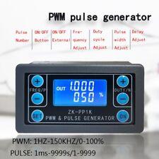 PWM Pulse Frequency Duty Cycle Adjustable Module Wave Signal Generator DE