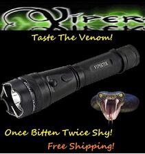 Viper 111 MILLION Volt Self Defense Stun Gun LED Light, free Tazer holster