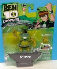 Ben 10 Omniverse Toepick Bandai 3Inch Figure Brand New Carded 2013