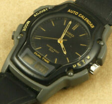 Casio AW-24 Vintage Ana-Digi Watch 40x45mm