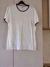 Mens White T. Shirt Large Topman