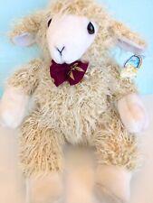 "New w/ TagsAdorable! Salco Harlow United Kingdom Plush Stuffed Animal ""Lamb"""