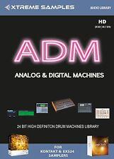 Xtreme samples adm analógico & digital machines drumlib Logic exs24 | ni contacto