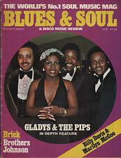 Gladys Knight Blues & Soul Iss 216 Johnny Guitar Watson Brothers Johnson Reggae
