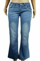 New Ladies Boot Cut Jeans Boot Cut Select Silver Embellished 8 - 16