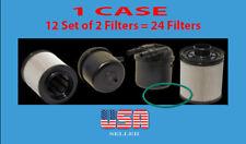 12 X FD4615 2011-2017 6.7L Powerstroke Fuel Filter Fit F250 350 450 550 650 750