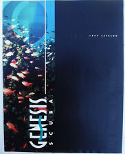 1997 Genesis Scuba Diving Equipment Catalog -New Old Stock- 18 Pages