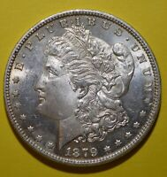 1879-P Morgan Dollar BU Blazing Uncirculated  Tough In High Grade Free Shipping
