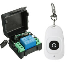 Dc 12V 10A relay Wireless Rf Remote Control Switch Transmitter and Receiver#Usa
