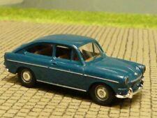 1/87 Brekina VW 1600 TL petrol Chrom-Felgen 26205