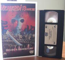 VHS ex-noleggio - VENERDI' 13 PARTE 8: INCUBO A MANHATTAN - CIC VIDEO - RARA !!!