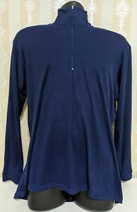 Patagonia Capilene Zip Neck Top Blue Mens Large