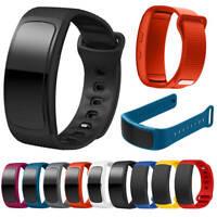 Für Samsung Gear Fit2 SM-R360 Ersatz Silikon Armband Uhrband Wriststrap Bracelet