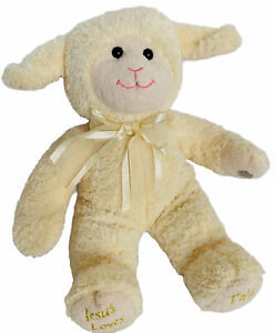 NWT NEW Princess Soft Toys Prayer Lamb Sheep Plush Jesus Loves MeThis I Know HTF