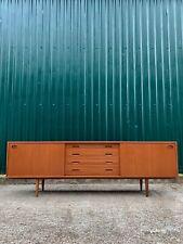 Stunning Danish Teak Sideboard by Clausen & Son Retro Vintage Mid Century 7ft