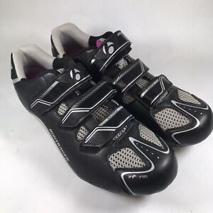 Bontrager Women's 42 10.5 Inform Solstice Bicycle Black Cycling Road Shoes