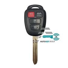 Replacement For 2015 Toyota Camry Keyless Entry Car Key Fob Remote Shell Case