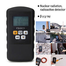 Nuclear Radiation Detector Dosimeter Monitor Beta Gamma Xray Geiger Counter Test