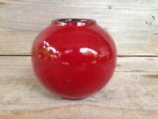 UNBEKANNT Vase / Mid-Century Vintage West-Germany Pottery / sign/size ---/8 cm