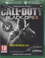 Call of Duty Black Ops 2 II Xbox One y 360 Zombies Nueva Sellado de fábrica