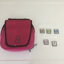 Nintendo Universal Transporter Carrying Case with 5 DS Games 2 Stylus - Bundle