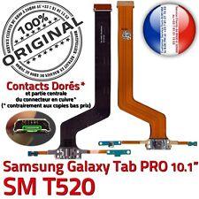 Original Tab pro Sm T520 Puerto USB Conector de Carga Micrófono Cargador Entrada