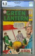 GREEN LANTERN #17 CGC 9.2 OW/WH PAGES