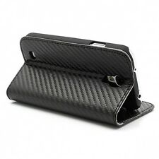 Original Cooler master Carbon Texture Flip Cover For Samsung Galaxy S4 i9500