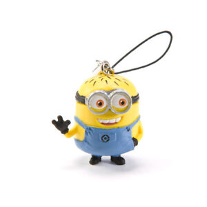 Despicable Me 2 Minions Strap Cell Phone Charm - Jerry