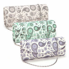 Markenlose geblümte Damentaschen mit abnehmbaren Trageriemen