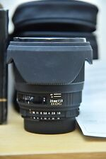 Sigma EX 24mm f/1.8 asferico EX Obiettivo Macro DG Nikon Fit IN SCATOLA