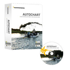 Humminbird Autochart DVD PC Mapping Software with Zero Lines Map Card micro/SD