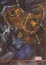 Star Wars Galaxy 4 - Joe Phillips Auto / Autograph Card #261