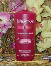 KERASTASE REFLECTION BAIN CHROMA RICHE 1000ml or 34oz NEW FRESH!!!