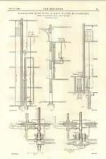 1894 Richmonds Lift con Carey agua Economizador conexión calderas y motores