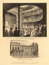 REGENCY THEATRE (later the SCALA), Tottenham/Charlotte Street, London 1834