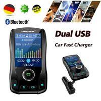 KFZ Bluetooth FM Transmitter Sender Auto Radio MP3 Musik Player Dual USB Adapter
