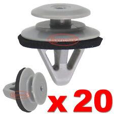 Moldeo por Lado Falda Umbral Cubierta De Puerta Recortar Clips Para Mazda 2 3 5 6 CX-9 Plástico